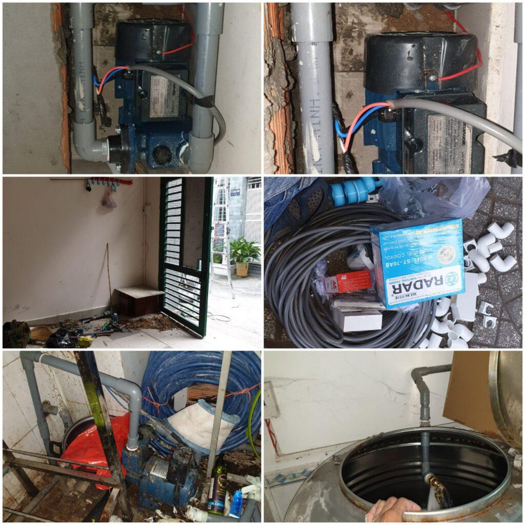 sửa máy bơm nước bình dương